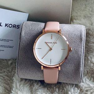 New Michael Kors Ladies Gold Rose Watch